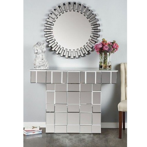 630108 console table with mirror