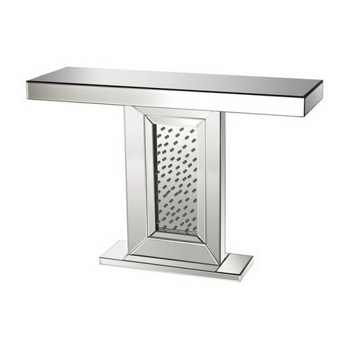630139 modern mirrored console table