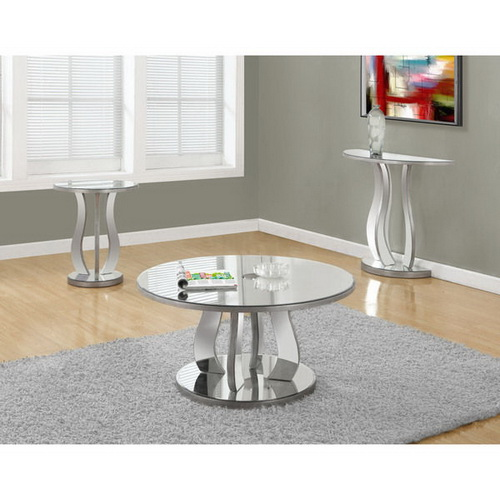 630267 antique mirrored console table