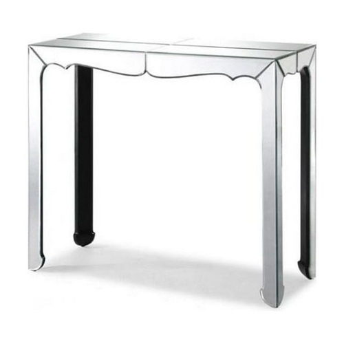 630295 glass console table mirrored console table