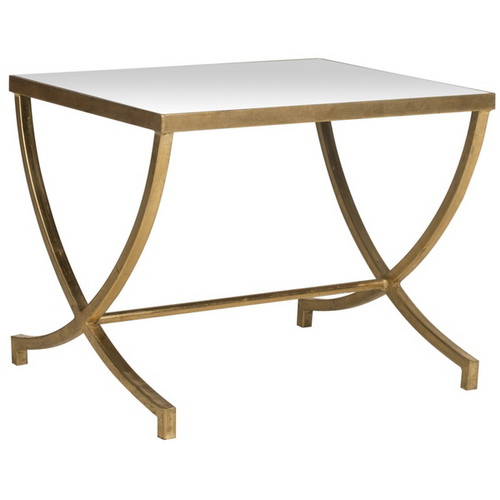 650057 Bed mirrored end table