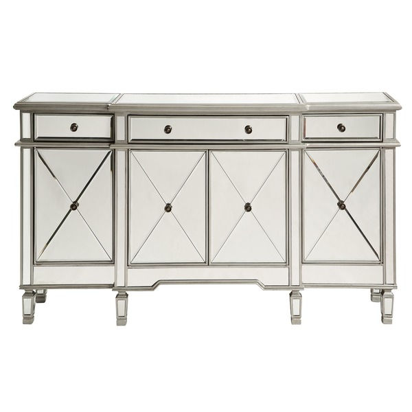 660001 Modern mirrored buffet