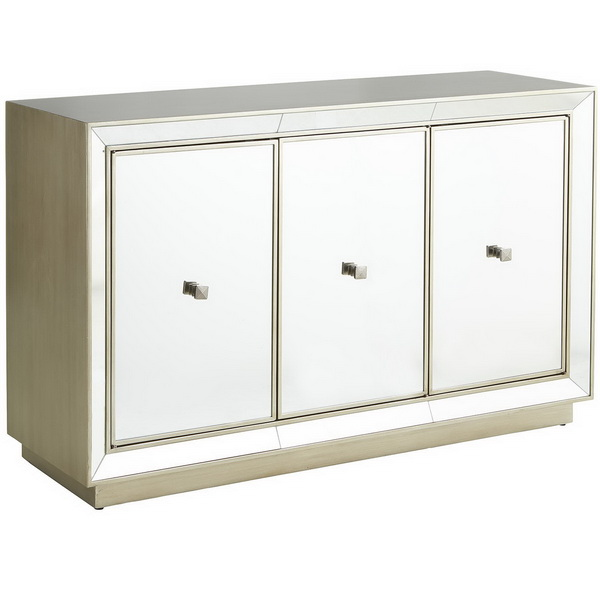 660004 Modern mirrored buffet