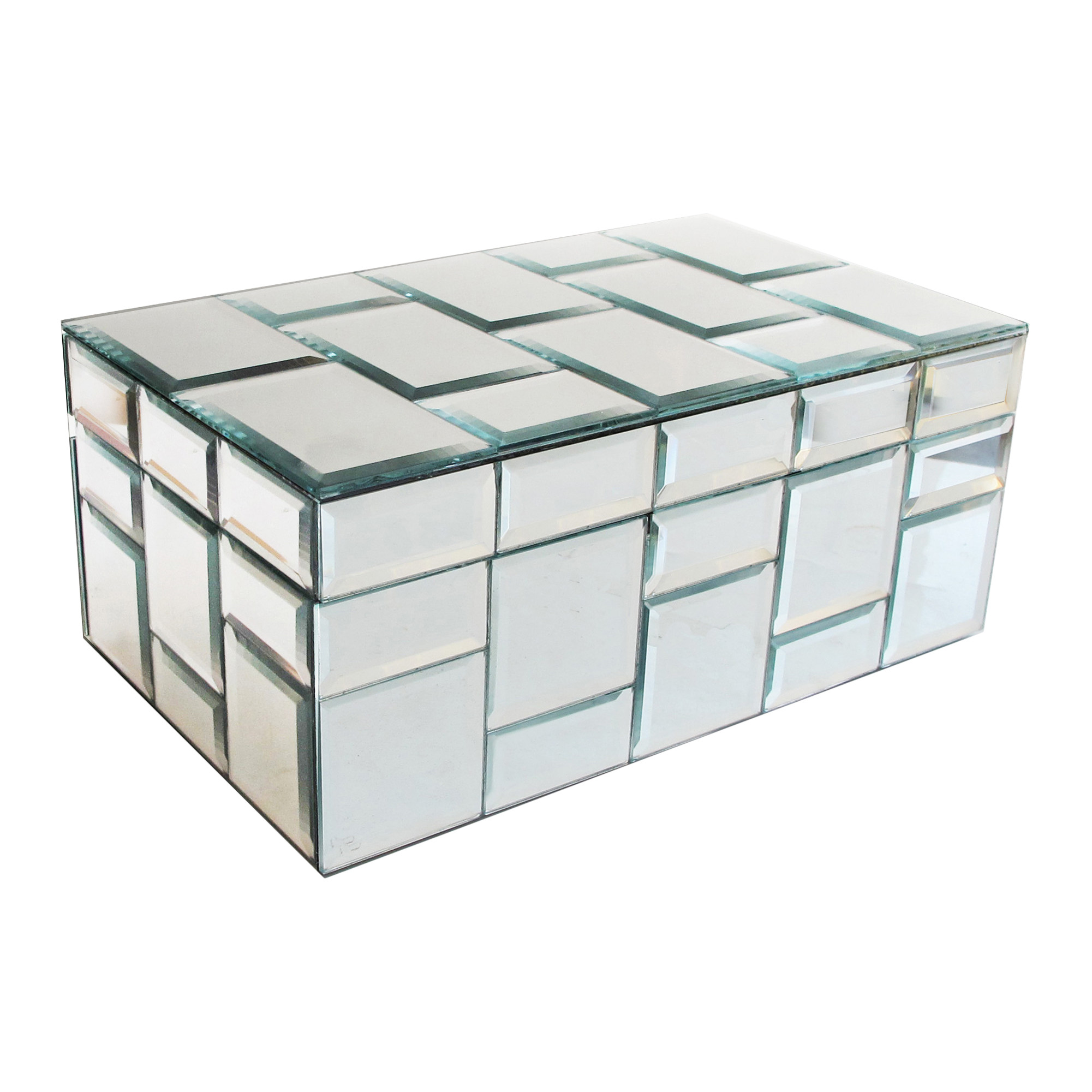 690007 mirrored Jewelry Box
