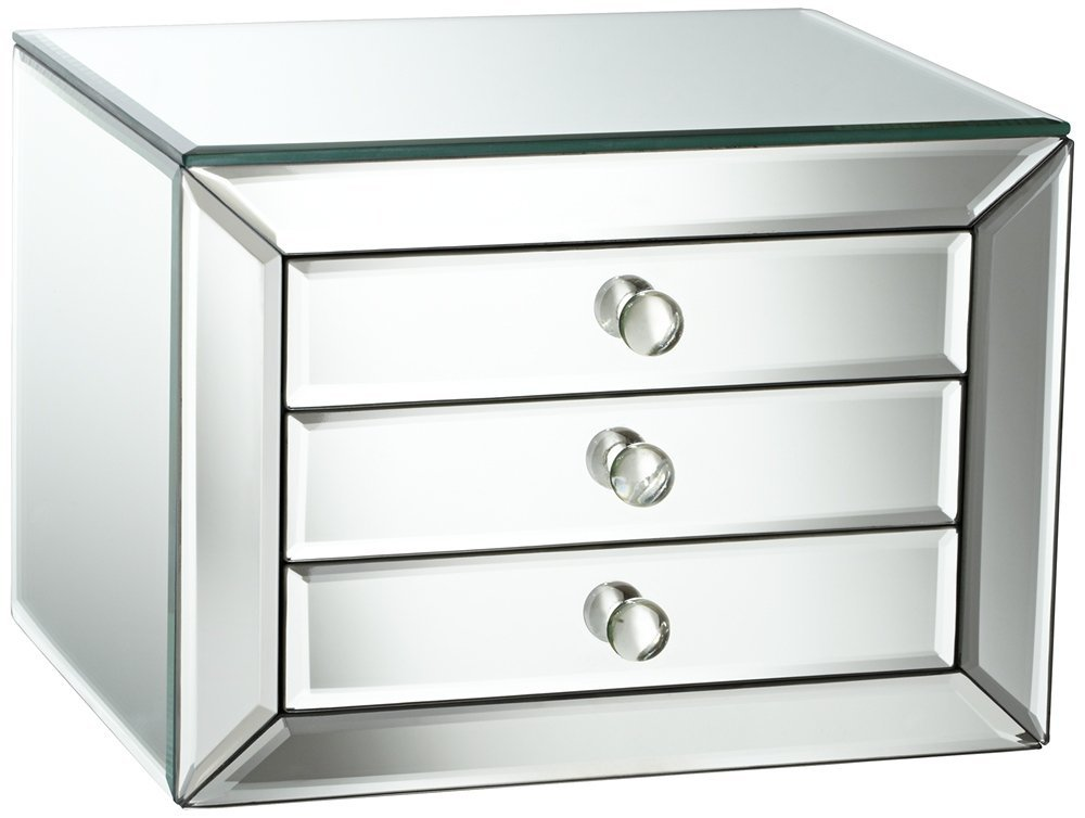 690041 mirrored Jewelry Box