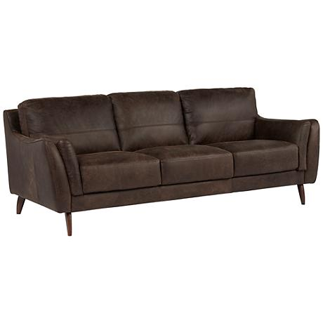 SFL00001 3 seats leather sofa