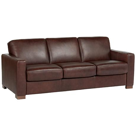 SFL00002 3 seats leather sofa