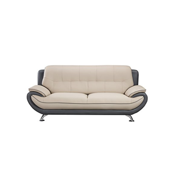 SFL00006 3 seats leather sofa