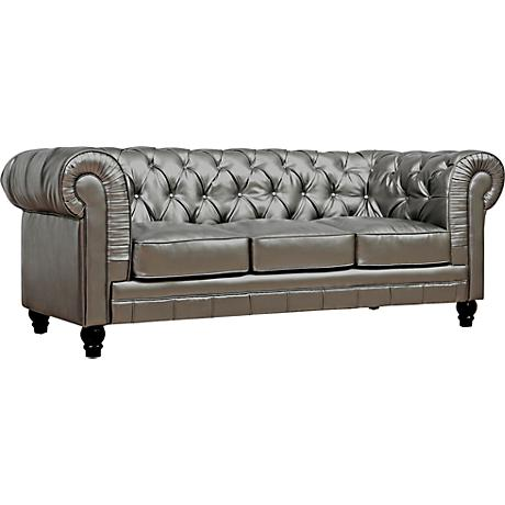 SFL00008 Modern leather sofa