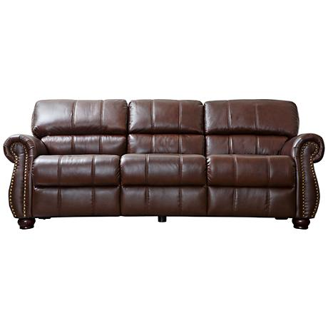 SFL00017 Modern leather sofa
