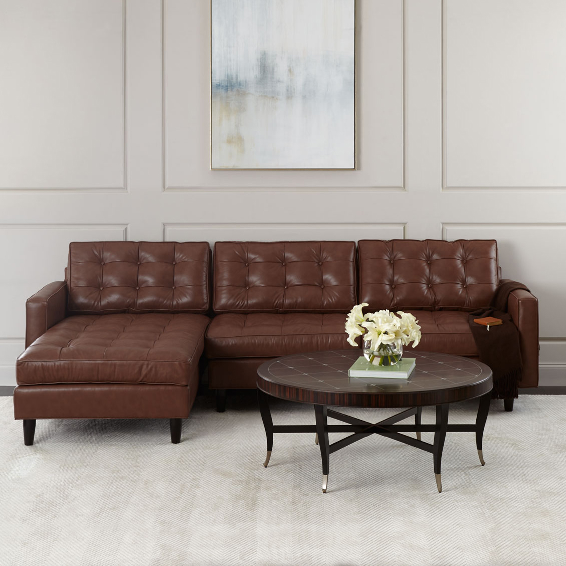 SFL00036 Modern sofa wood carving living room furniture