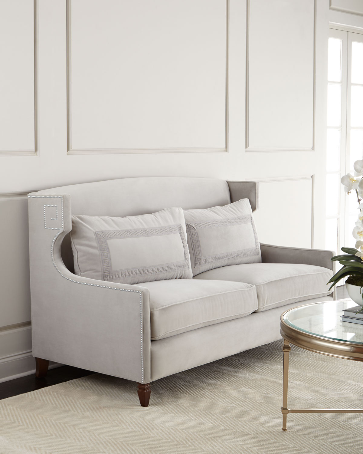 SFM00047 upholstered small sofa furniture