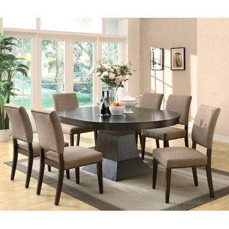 DT00188 tempered glass dining table