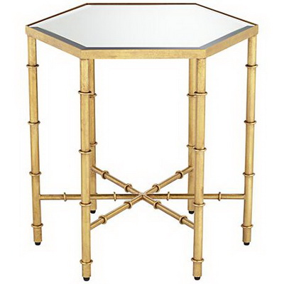 ET00001 Hotel gold end table