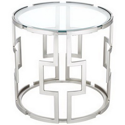 ET00008 Hotel gold end table