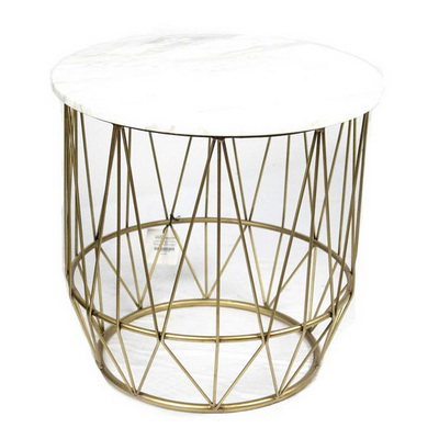 ET00200 Steel Side Table